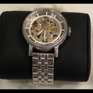 Fossil Stainless Steel Kinetic Watch